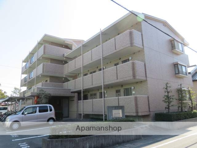 静岡県浜松市中区、浜松駅徒歩17分の築16年 4階建の賃貸マンション