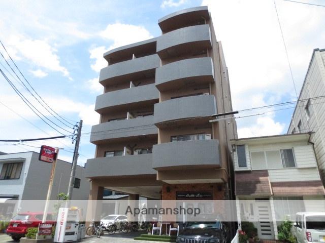静岡県浜松市中区、浜松駅徒歩15分の築21年 5階建の賃貸マンション