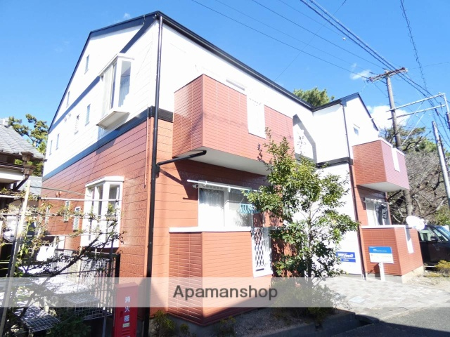 静岡県浜松市中区、浜松駅徒歩15分の築23年 2階建の賃貸アパート