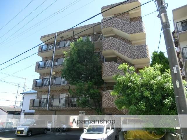 静岡県浜松市中区、遠州病院駅徒歩15分の築20年 5階建の賃貸マンション
