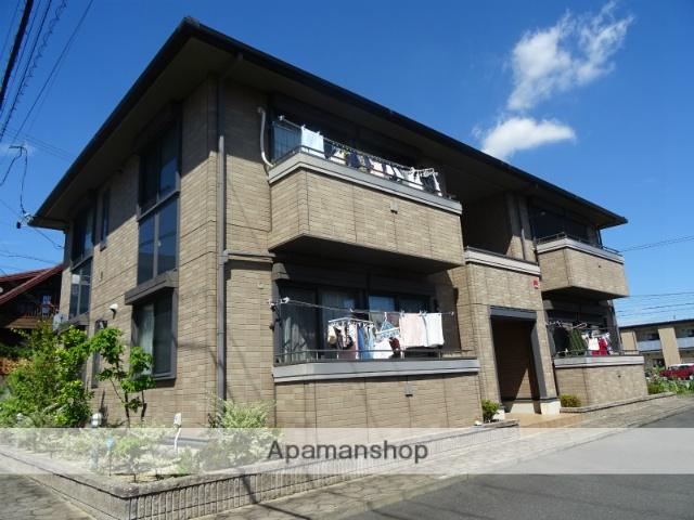 静岡県浜松市浜北区、浜松駅遠鉄バスバス25分赤松坂下車後徒歩20分の築10年 2階建の賃貸アパート