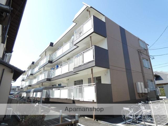 静岡県浜松市東区、浜松駅遠鉄バスバス26分JA長上支店下車後徒歩5分の築33年 3階建の賃貸マンション