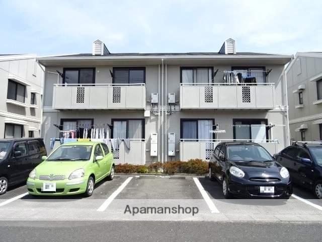 静岡県浜松市中区、浜松駅遠州鉄道バス18分上北下車後徒歩3分の築31年 2階建の賃貸アパート