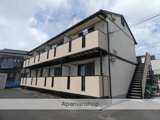 静岡県浜松市南区、浜松駅徒歩19分の築20年 2階建の賃貸アパート