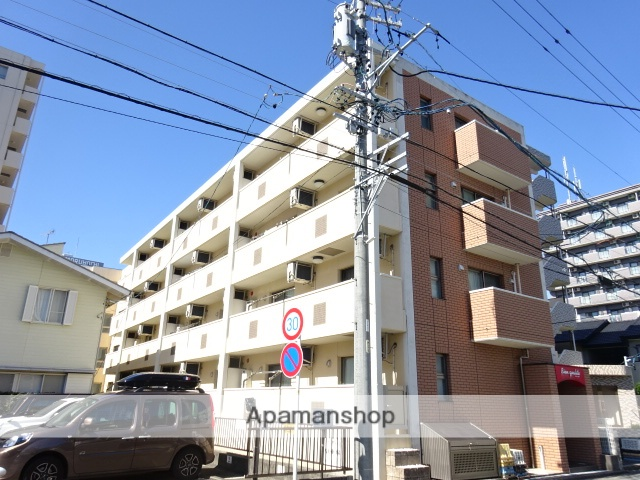 静岡県浜松市中区、浜松駅徒歩20分の築7年 4階建の賃貸マンション