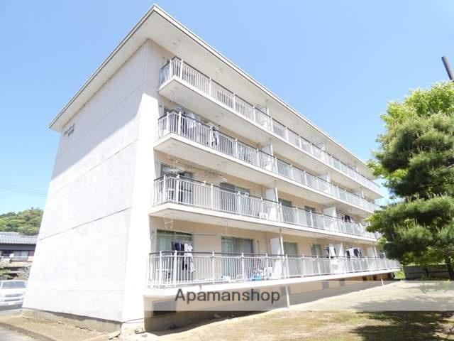 静岡県浜松市天竜区、天竜二俣駅徒歩10分の築37年 4階建の賃貸マンション