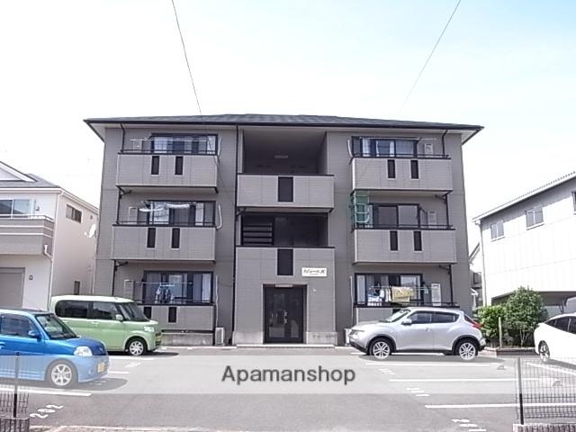 静岡県浜松市中区、浜松駅向宿松島線バス30分領家北下車後徒歩10分の築16年 3階建の賃貸アパート
