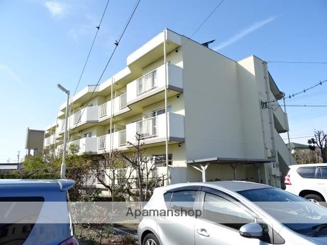 静岡県浜松市浜北区、浜北駅徒歩12分の築27年 3階建の賃貸マンション