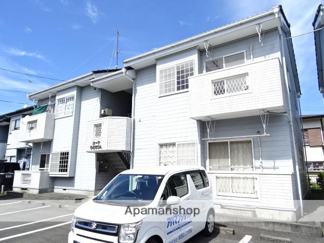 静岡県浜松市中区、浜松駅バス40分萩野原橋下車後徒歩5分の築25年 2階建の賃貸アパート