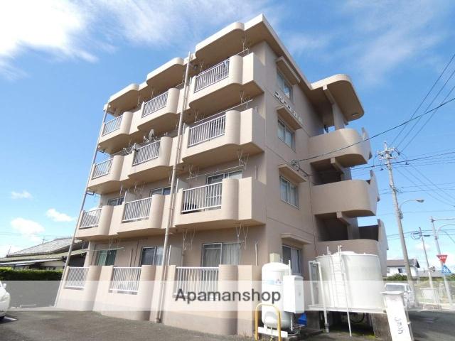 静岡県浜松市東区、遠州小松駅徒歩35分の築27年 4階建の賃貸マンション