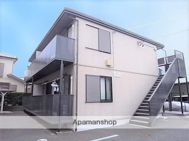 静岡県浜松市南区、浜松駅遠鉄バスバス30分大柳東下車後徒歩7分の築16年 2階建の賃貸アパート