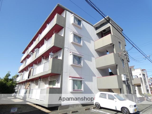 静岡県浜松市南区、天竜川駅徒歩30分の築31年 4階建の賃貸マンション