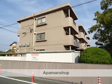 静岡県磐田市、豊田町駅ユーバスバス10分下万能下車後徒歩6分の築24年 3階建の賃貸マンション