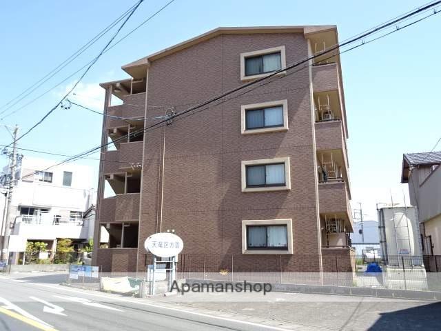 静岡県浜松市浜北区、美薗中央公園駅徒歩15分の築11年 4階建の賃貸マンション