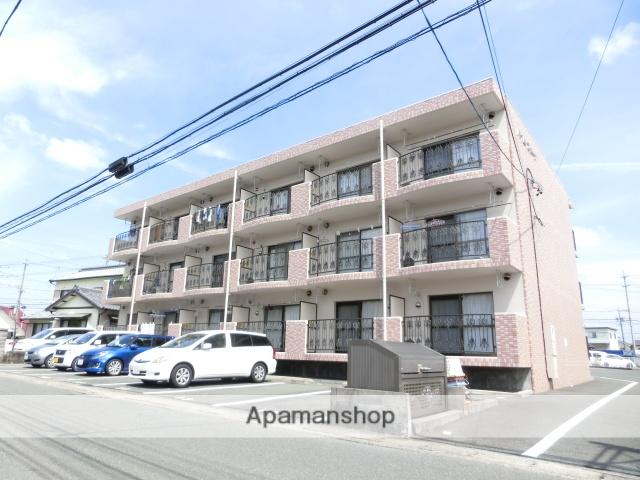 静岡県浜松市東区、天竜川駅徒歩9分の築17年 3階建の賃貸マンション