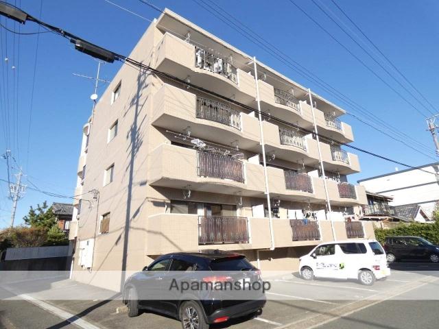 静岡県浜松市東区、天竜川駅徒歩7分の築21年 4階建の賃貸マンション