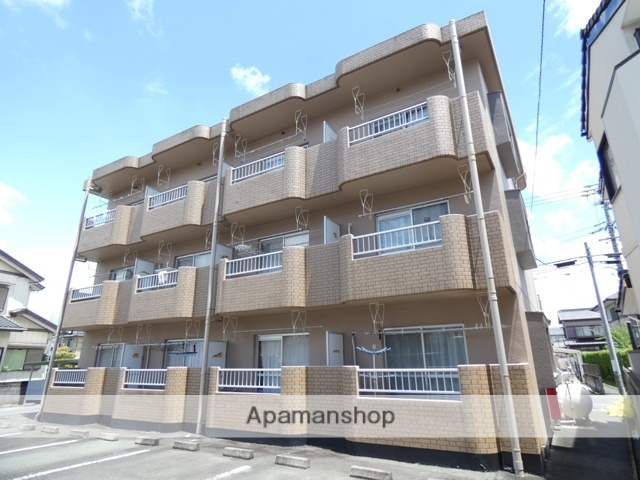 静岡県浜松市浜北区、遠州小松駅徒歩21分の築22年 3階建の賃貸マンション
