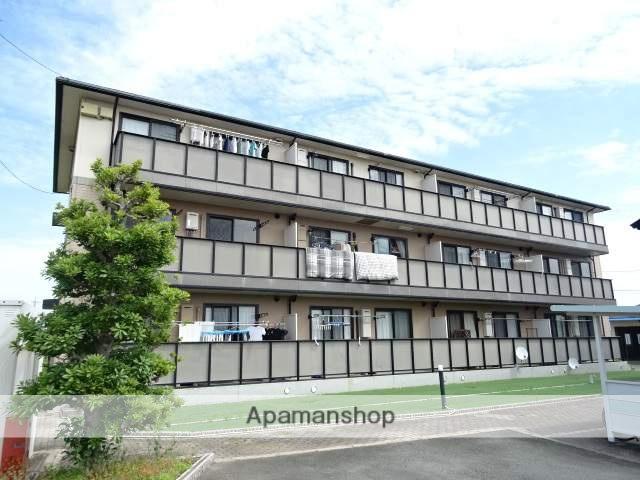 静岡県浜松市東区、さぎの宮駅徒歩25分の築17年 3階建の賃貸アパート