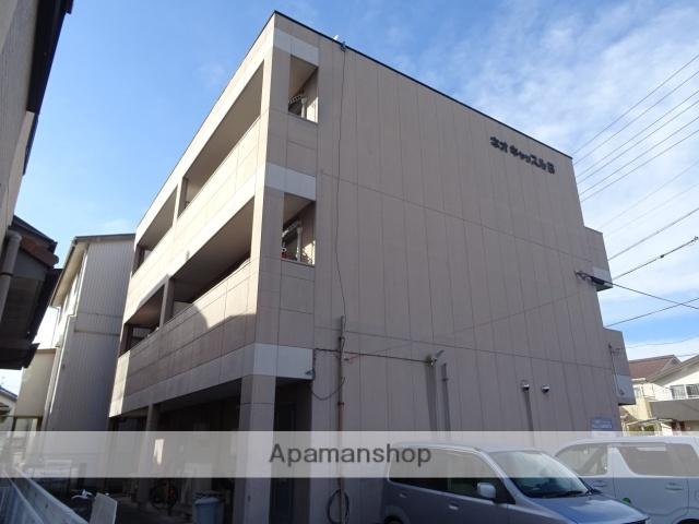 静岡県浜松市東区、浜松駅バス24分上新屋町下車後徒歩3分の築19年 3階建の賃貸マンション
