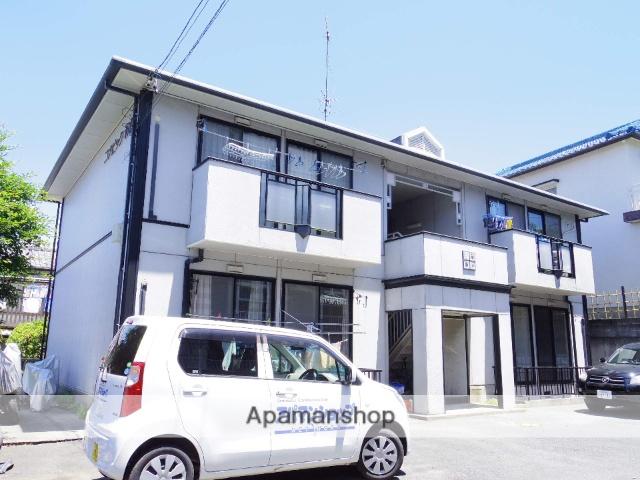 静岡県浜松市中区、浜松駅遠鉄バスバス32分馬舟下車後徒歩2分の築26年 2階建の賃貸アパート
