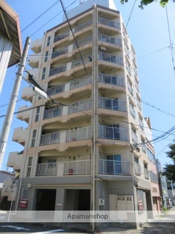 静岡県浜松市中区、浜松駅徒歩11分の築26年 8階建の賃貸マンション