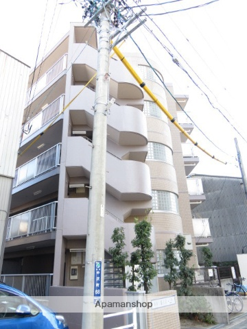 静岡県浜松市中区、浜松駅遠鉄バスバス15分常楽寺下車後徒歩3分の築25年 5階建の賃貸マンション