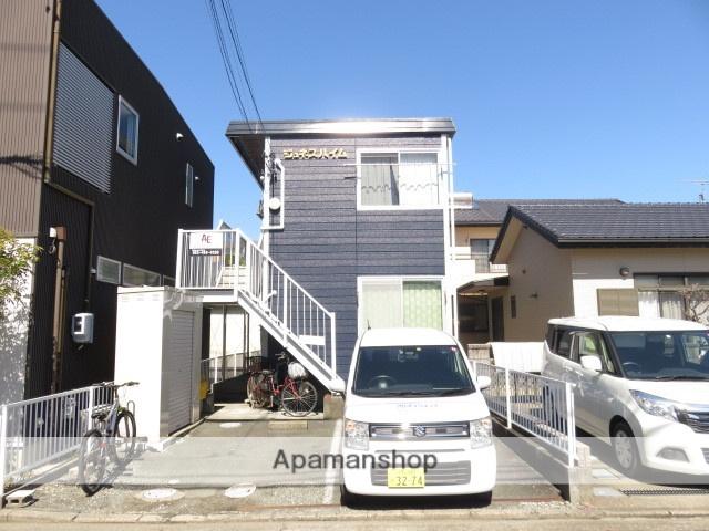 静岡県浜松市中区、浜松駅バス10分八幡中入口下車後徒歩5分の築29年 2階建の賃貸アパート