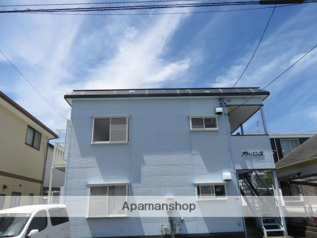 静岡県浜松市中区、浜松駅徒歩16分の築20年 2階建の賃貸アパート