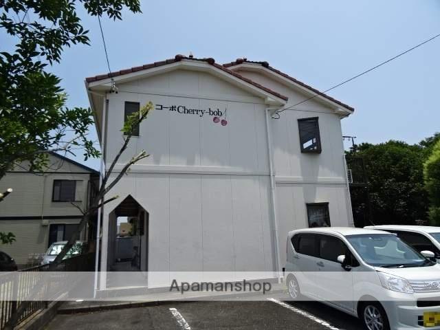 静岡県浜松市中区、浜松駅遠鉄バスバス22分萩丘下車後徒歩5分の築28年 2階建の賃貸アパート