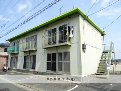 静岡県浜松市南区、浜松駅バス18分大畑下車後徒歩3分の築34年 2階建の賃貸アパート