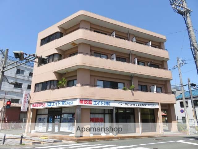 静岡県浜松市中区、浜松駅徒歩6分の築30年 4階建の賃貸マンション