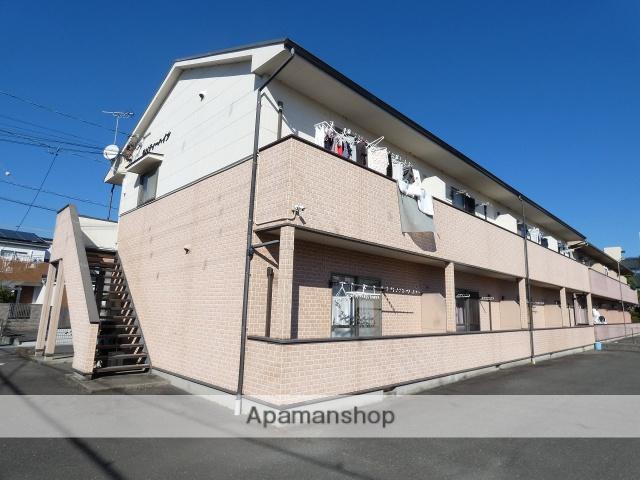 静岡県磐田市、豊田町駅遠鉄バスバス20分掛塚下車後徒歩4分の築9年 2階建の賃貸アパート