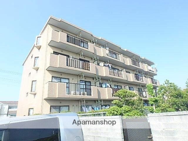 静岡県磐田市、豊田町駅徒歩15分の築23年 4階建の賃貸マンション