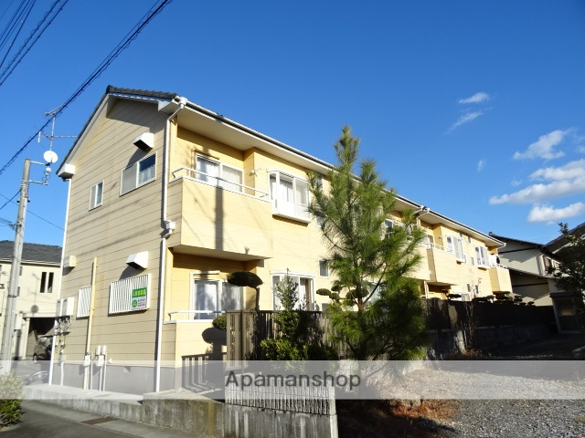 静岡県浜松市中区、浜松駅遠鉄バスバス25分追分下車後徒歩3分の築23年 2階建の賃貸アパート