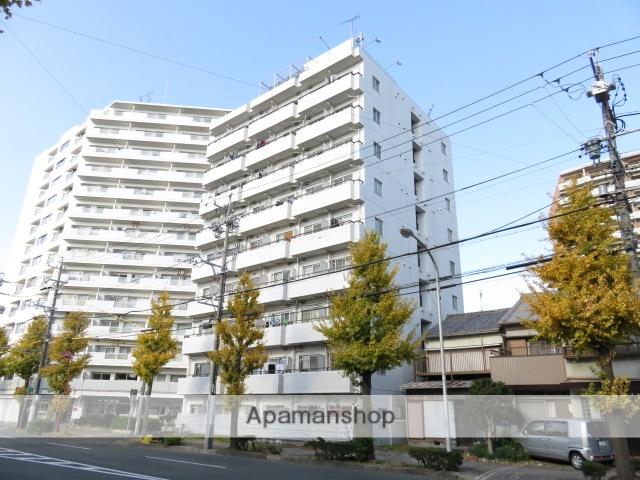 静岡県浜松市中区、浜松駅徒歩9分の築26年 9階建の賃貸マンション