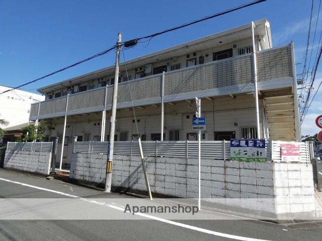 静岡県浜松市中区、浜松駅徒歩15分の築27年 2階建の賃貸アパート