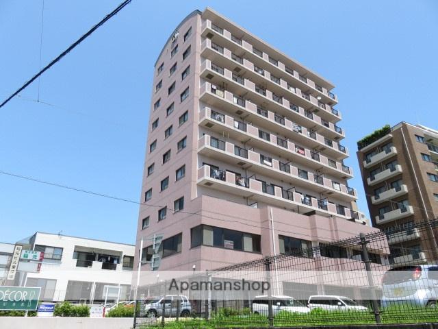 静岡県浜松市中区、浜松駅徒歩17分の築21年 10階建の賃貸マンション