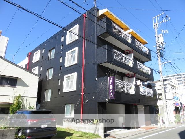静岡県浜松市中区、浜松駅徒歩17分の築35年 4階建の賃貸マンション