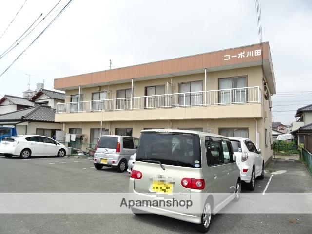 静岡県浜松市東区、浜松駅遠鉄バスバス30分与進中学校下車後徒歩5分の築32年 2階建の賃貸アパート