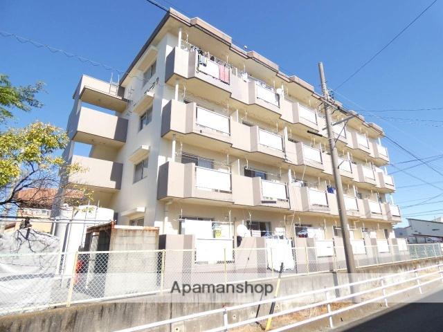 静岡県浜松市東区、天竜川駅徒歩24分の築27年 4階建の賃貸マンション