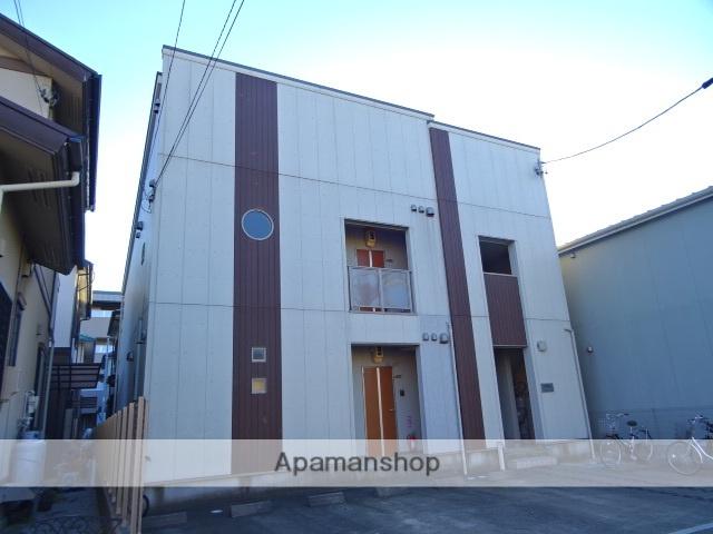 静岡県浜松市中区、浜松駅遠州鉄道バス36分基地東下車後徒歩6分の築9年 2階建の賃貸アパート