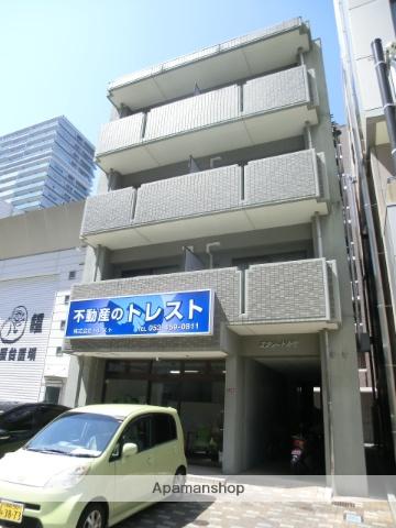 静岡県浜松市中区、浜松駅徒歩8分の築14年 4階建の賃貸マンション