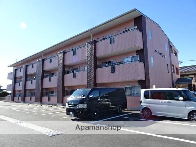 静岡県浜松市浜北区、岩水寺駅徒歩24分の築6年 3階建の賃貸マンション