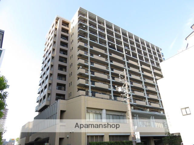 静岡県浜松市中区、浜松駅徒歩6分の築17年 13階建の賃貸マンション