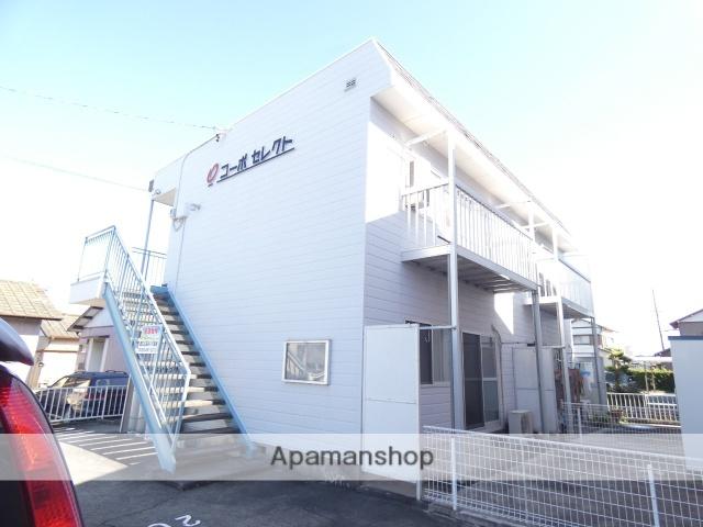 静岡県浜松市東区、浜松駅バス25分与進小学校下車後徒歩3分の築28年 2階建の賃貸アパート