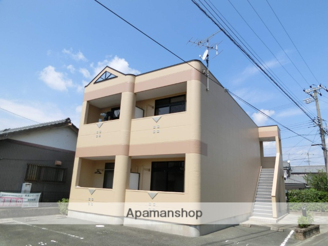 静岡県浜松市浜北区、美薗中央公園駅徒歩29分の築18年 2階建の賃貸アパート