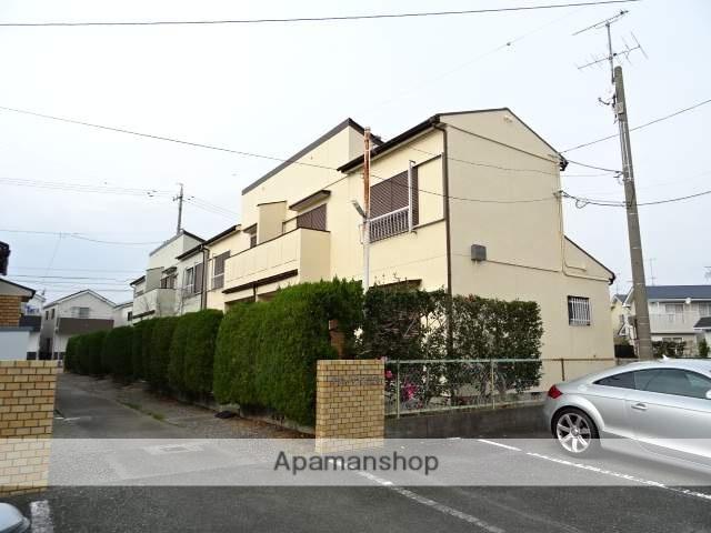 静岡県浜松市東区、天竜川駅徒歩21分の築35年 2階建の賃貸テラスハウス