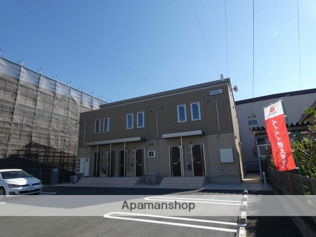 静岡県浜松市南区、浜松駅遠鉄バスバス12分浜松神社西下車後徒歩1分の築2年 2階建の賃貸アパート