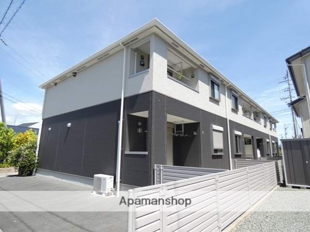 静岡県浜松市浜北区、浜北駅徒歩23分の築2年 2階建の賃貸アパート