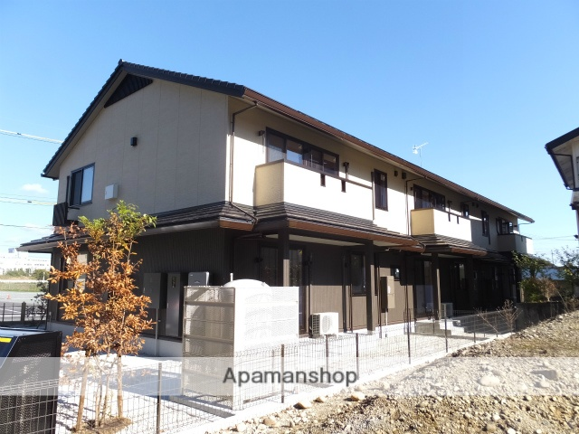 静岡県浜松市東区、浜松駅バス30分半田上下車後徒歩10分の築1年 2階建の賃貸アパート